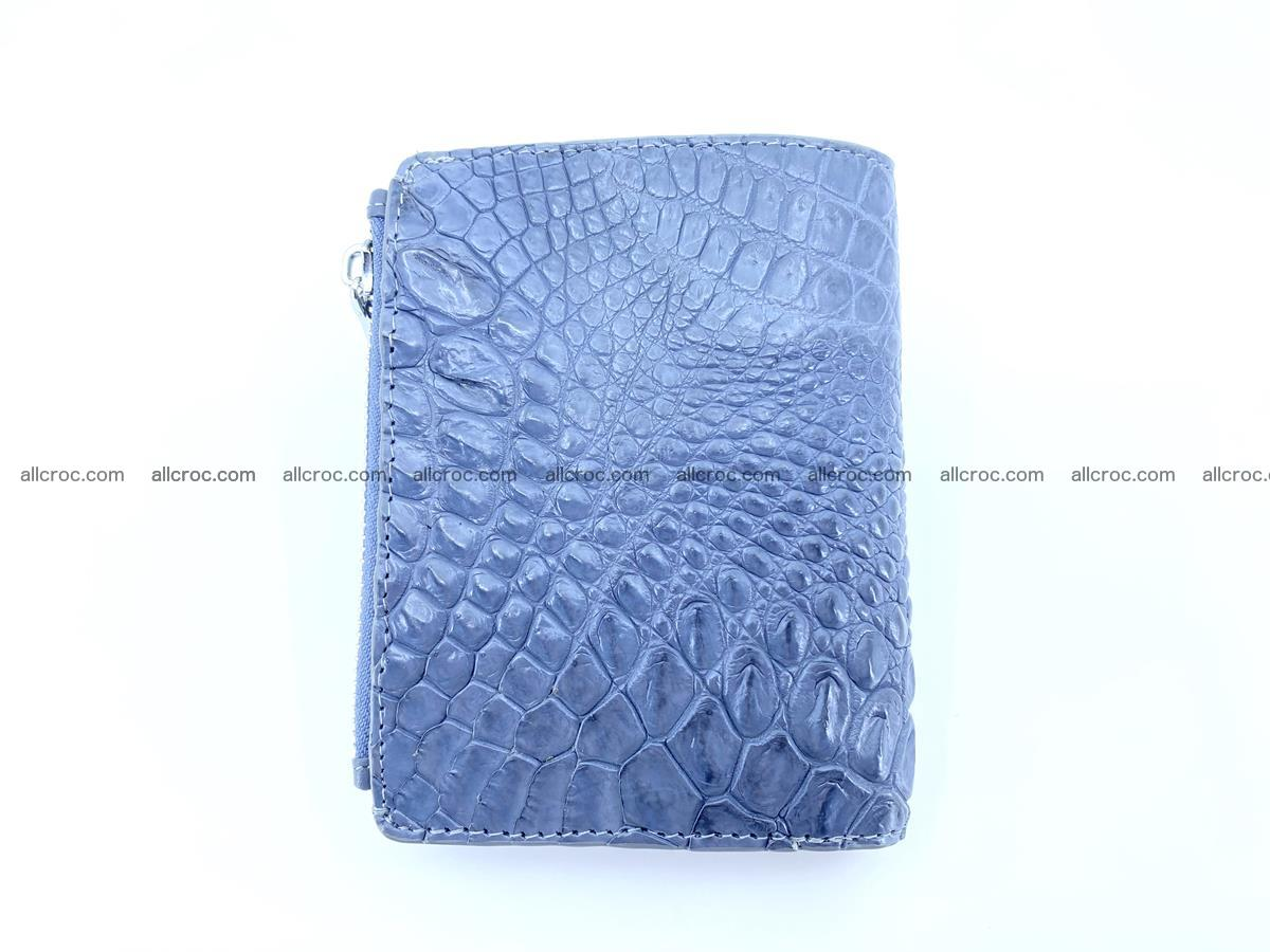 Crocodile leather vertical wallet HK 644 Foto 1