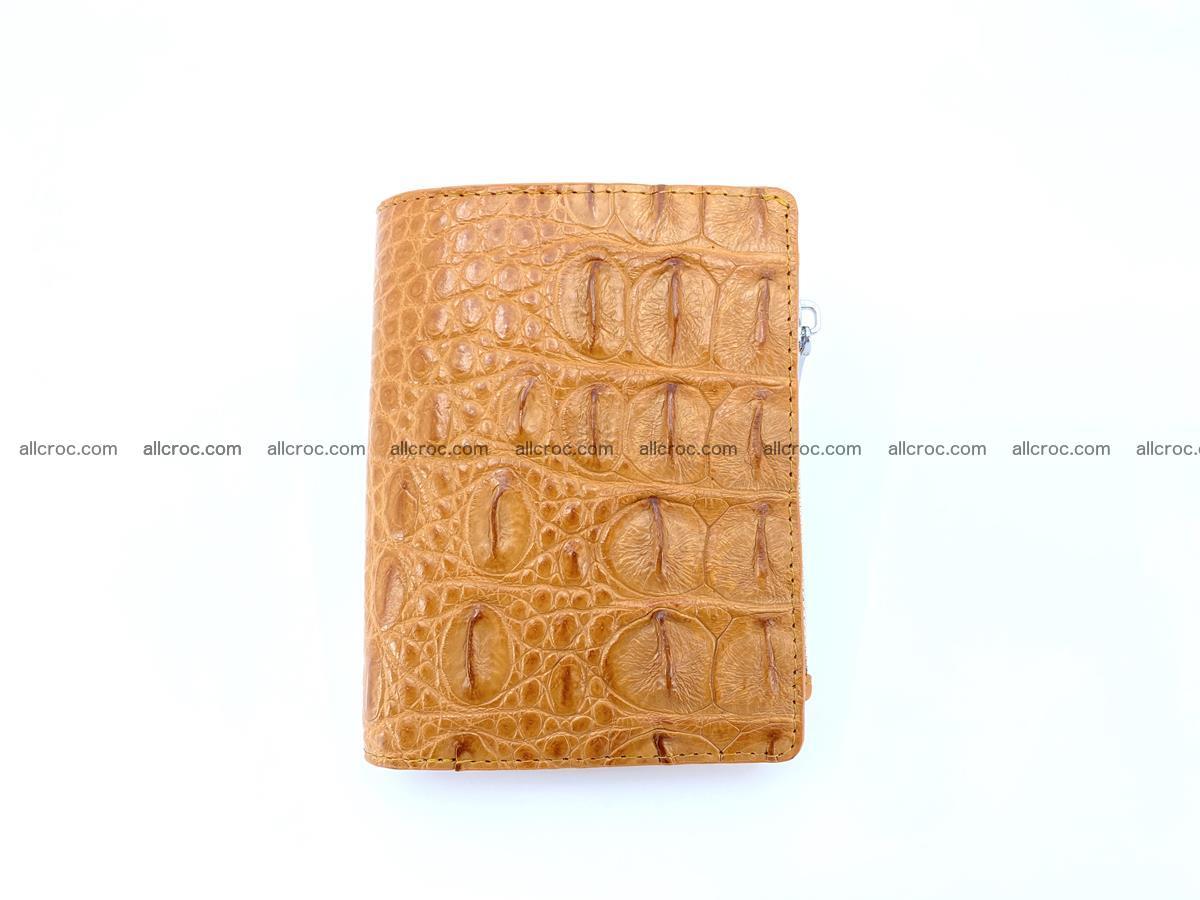 Crocodile leather vertical wallet HK 641 Foto 0
