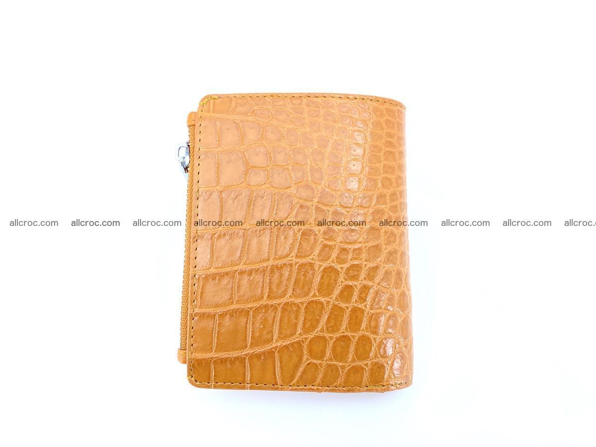Crocodile leather vertical wallet HK 641 Foto 1