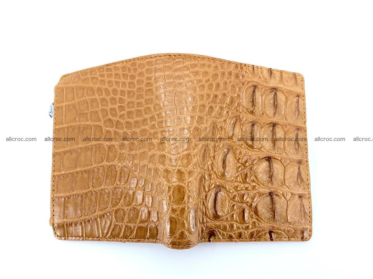 Crocodile leather vertical wallet HK 641 Foto 4