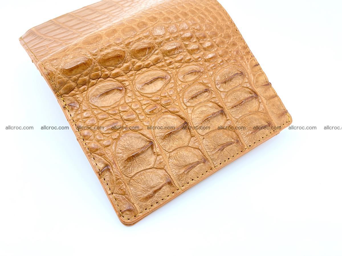 Crocodile leather vertical wallet HK 641 Foto 2