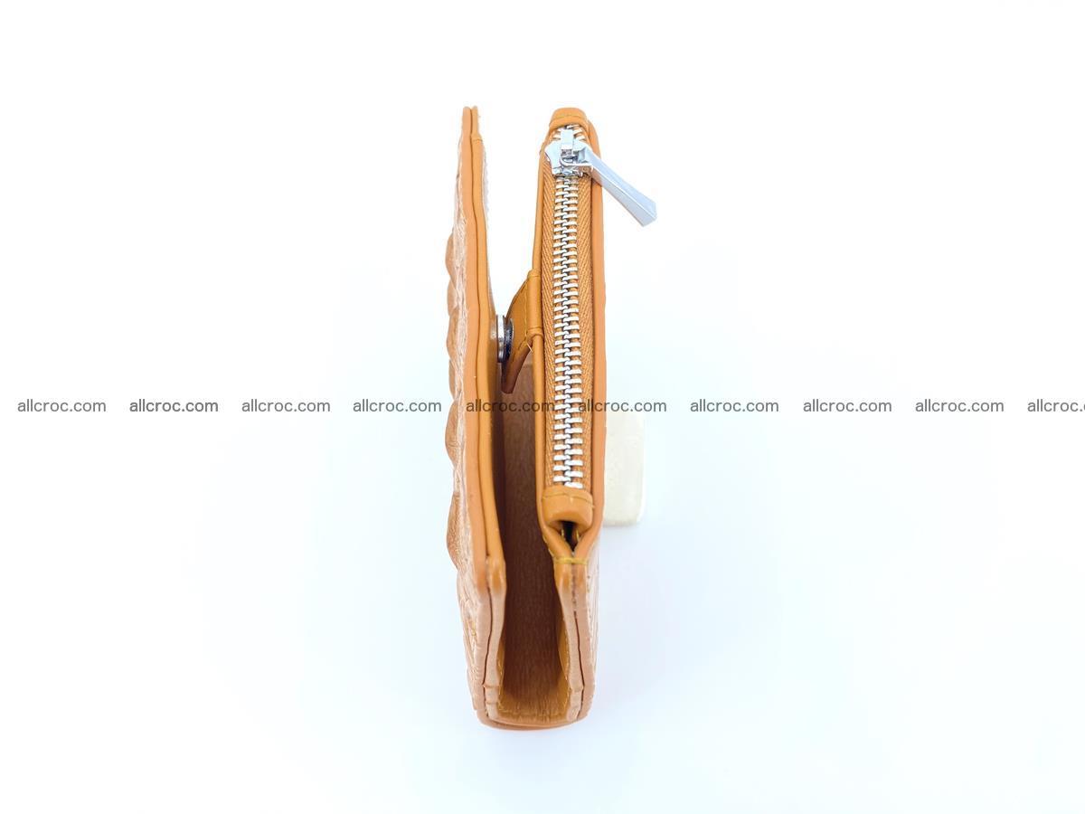 Crocodile leather vertical wallet HK 641 Foto 7