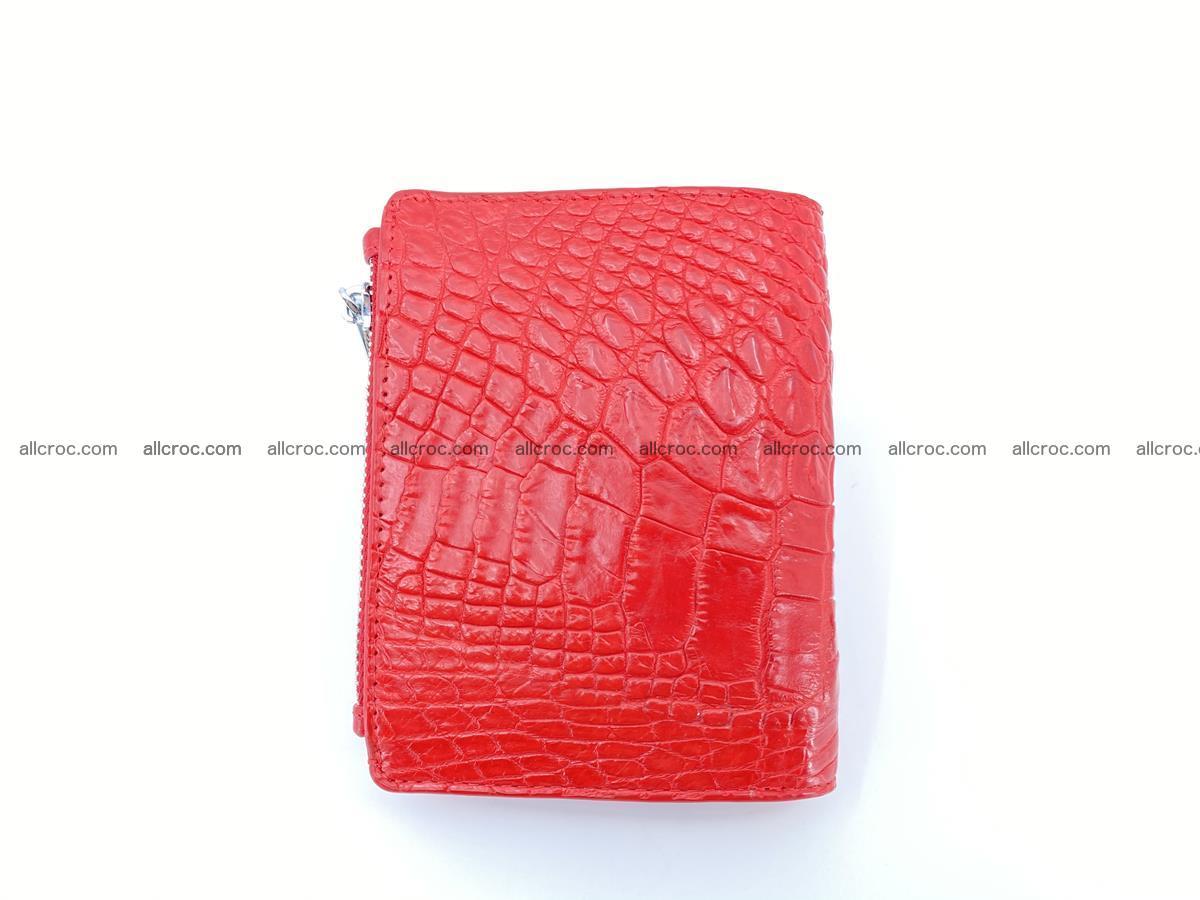 Crocodile leather vertical wallet HK 643 Foto 1