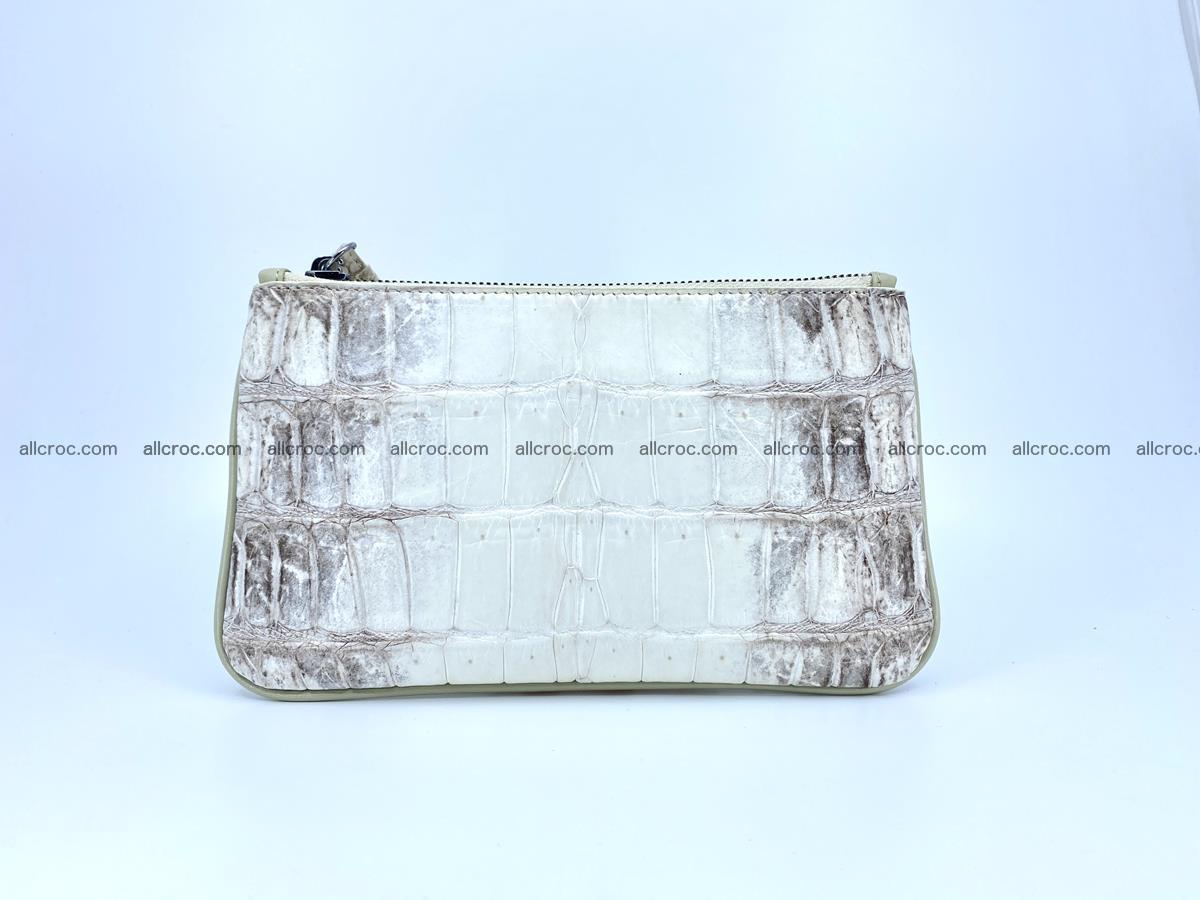 Crocodile skin purse with zip 670 Foto 3