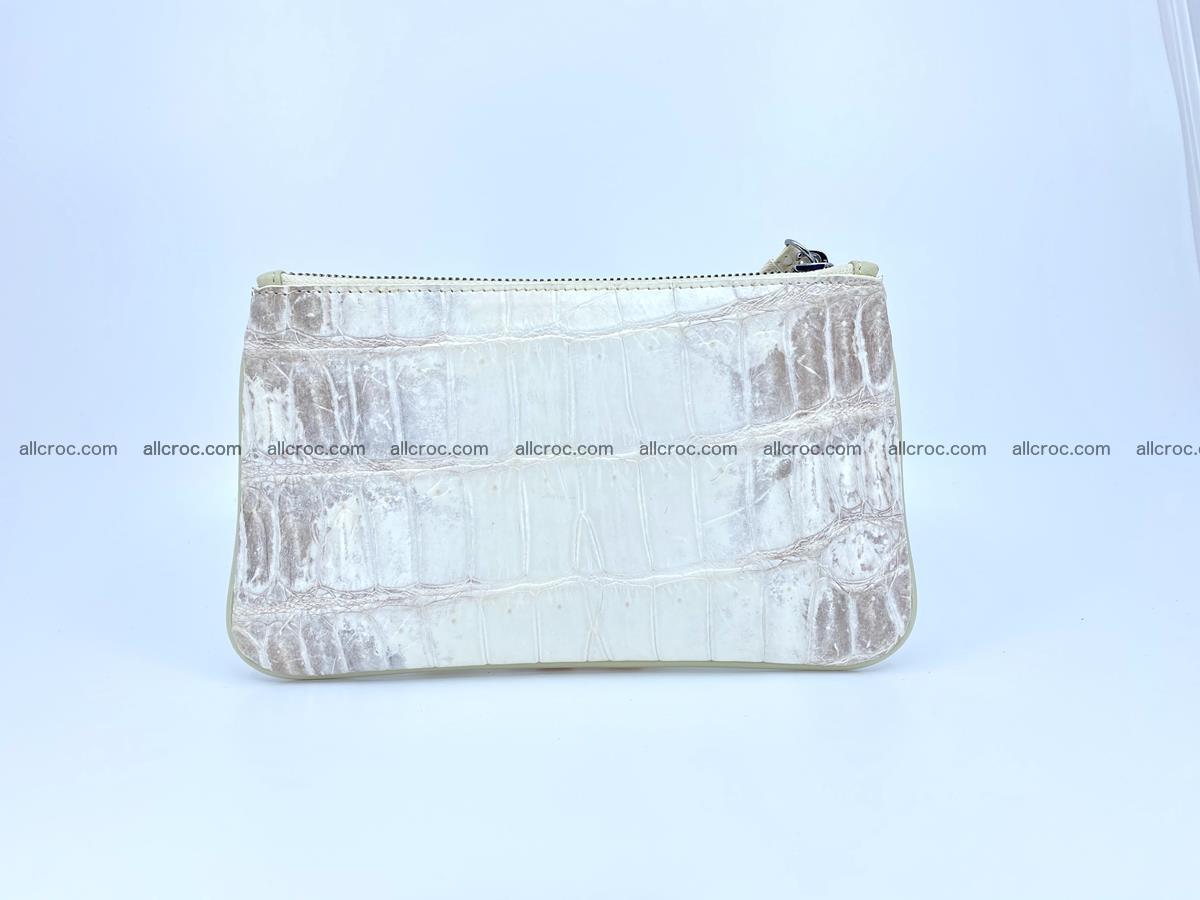Crocodile skin purse with zip 670 Foto 2