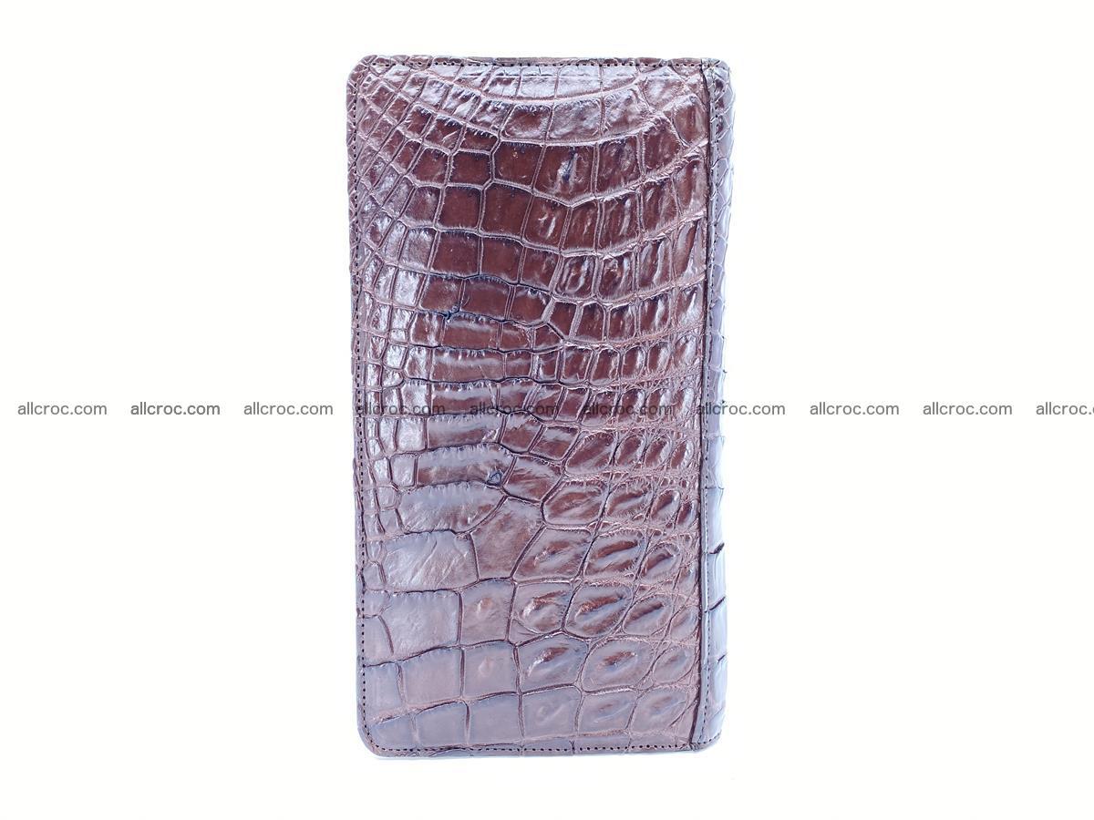 Crocodile skin zip wallet 608 Foto 6