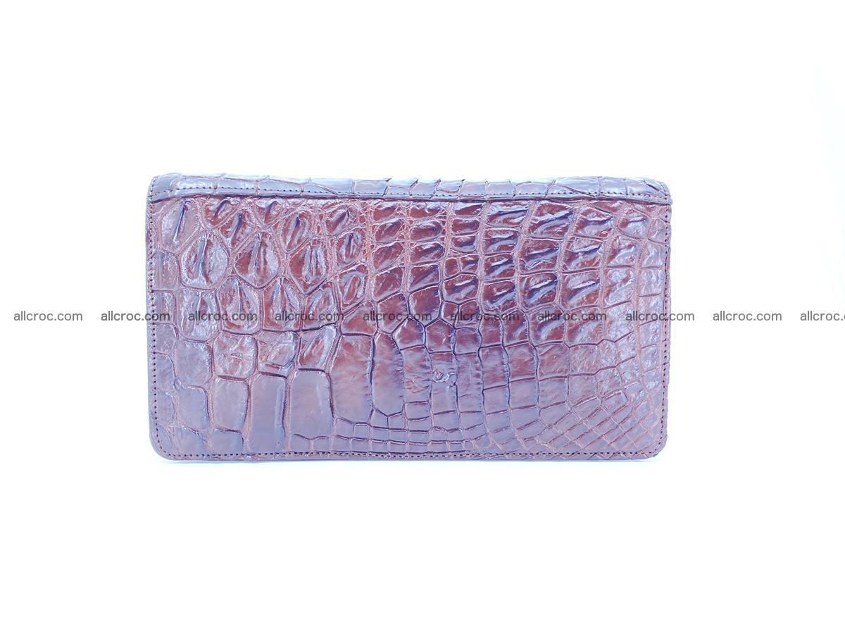 Crocodile skin zip wallet 608 Foto 3