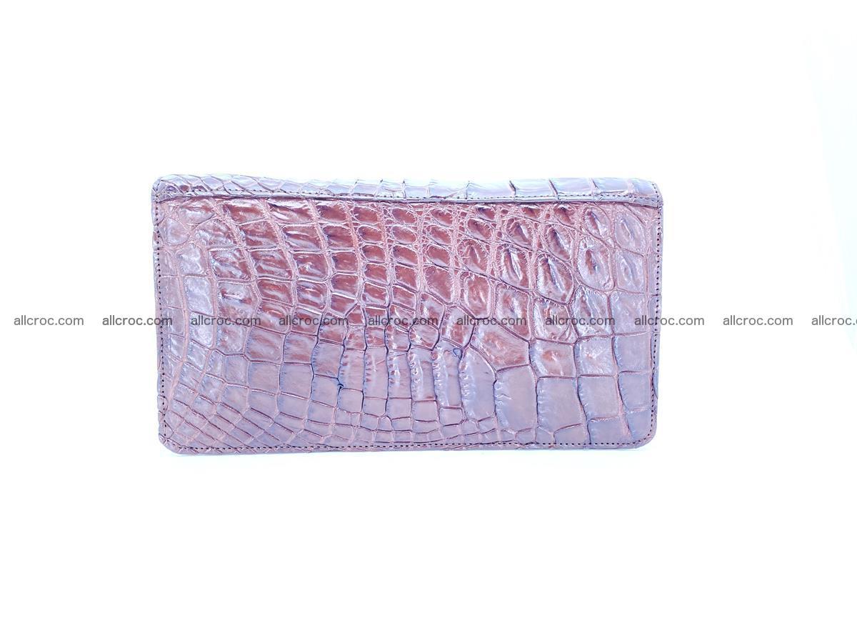 Crocodile skin zip wallet 608 Foto 2