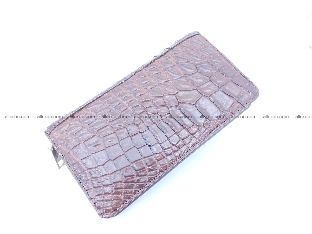 Crocodile skin zip wallet 608 Foto 8