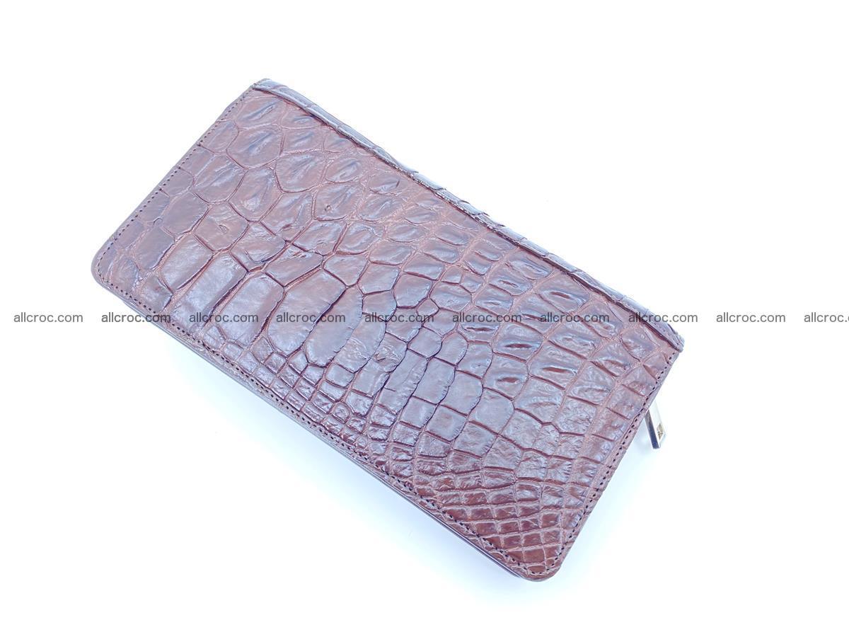 Crocodile skin zip wallet 608 Foto 9