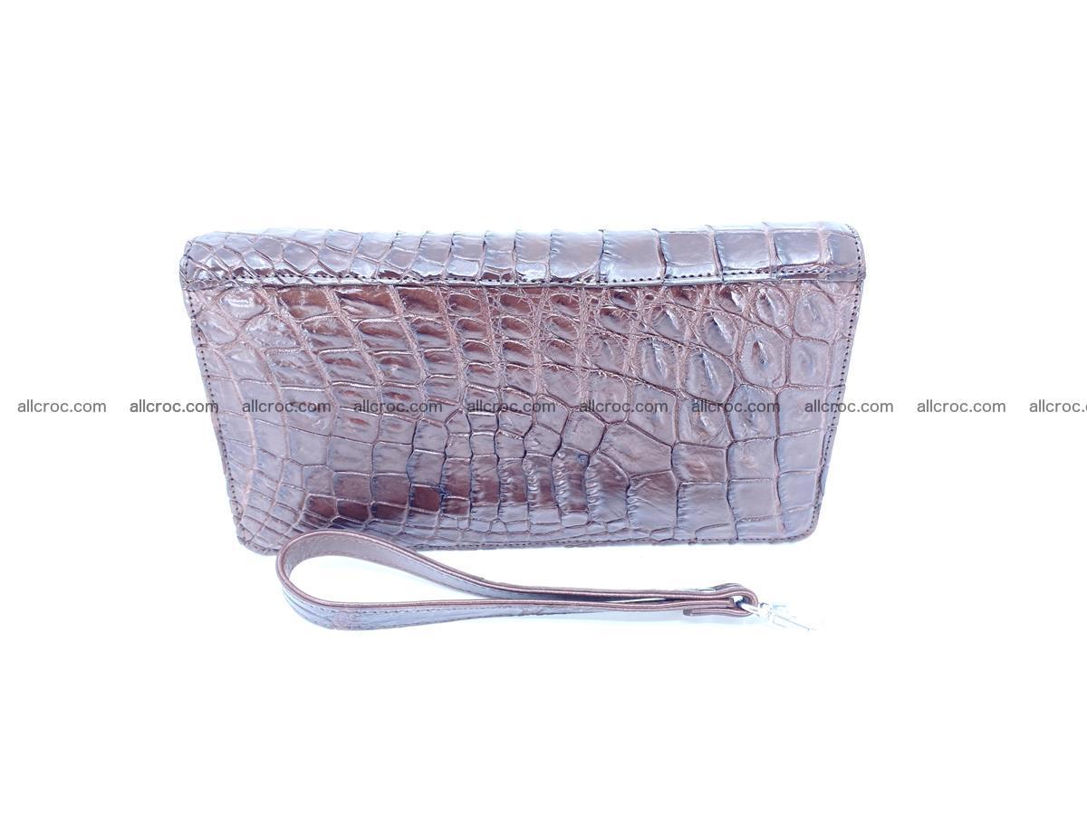 Crocodile skin zip wallet 608 Foto 5