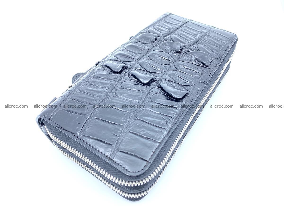 Crocodile skin wallet 2-zips 676 Foto 1
