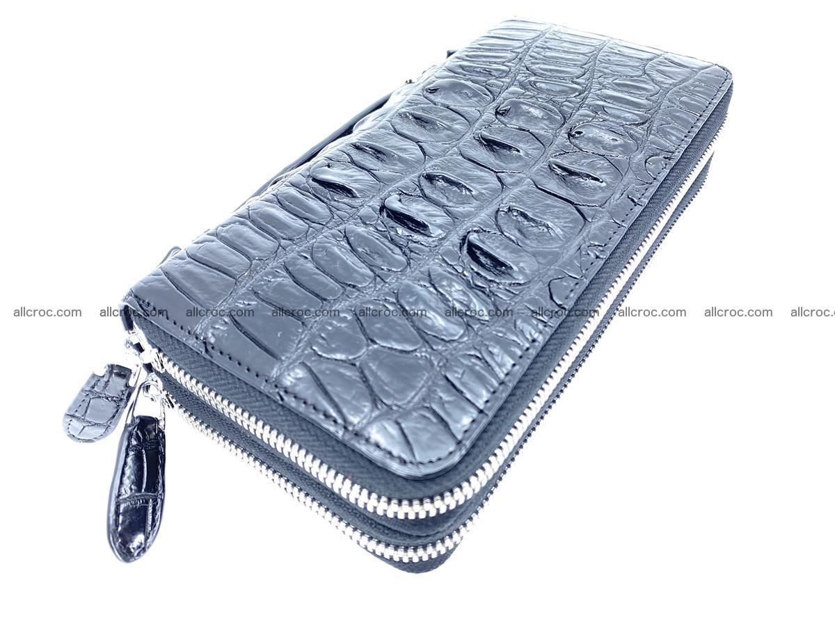 Crocodile skin wallet 2-zips 676 Foto 0