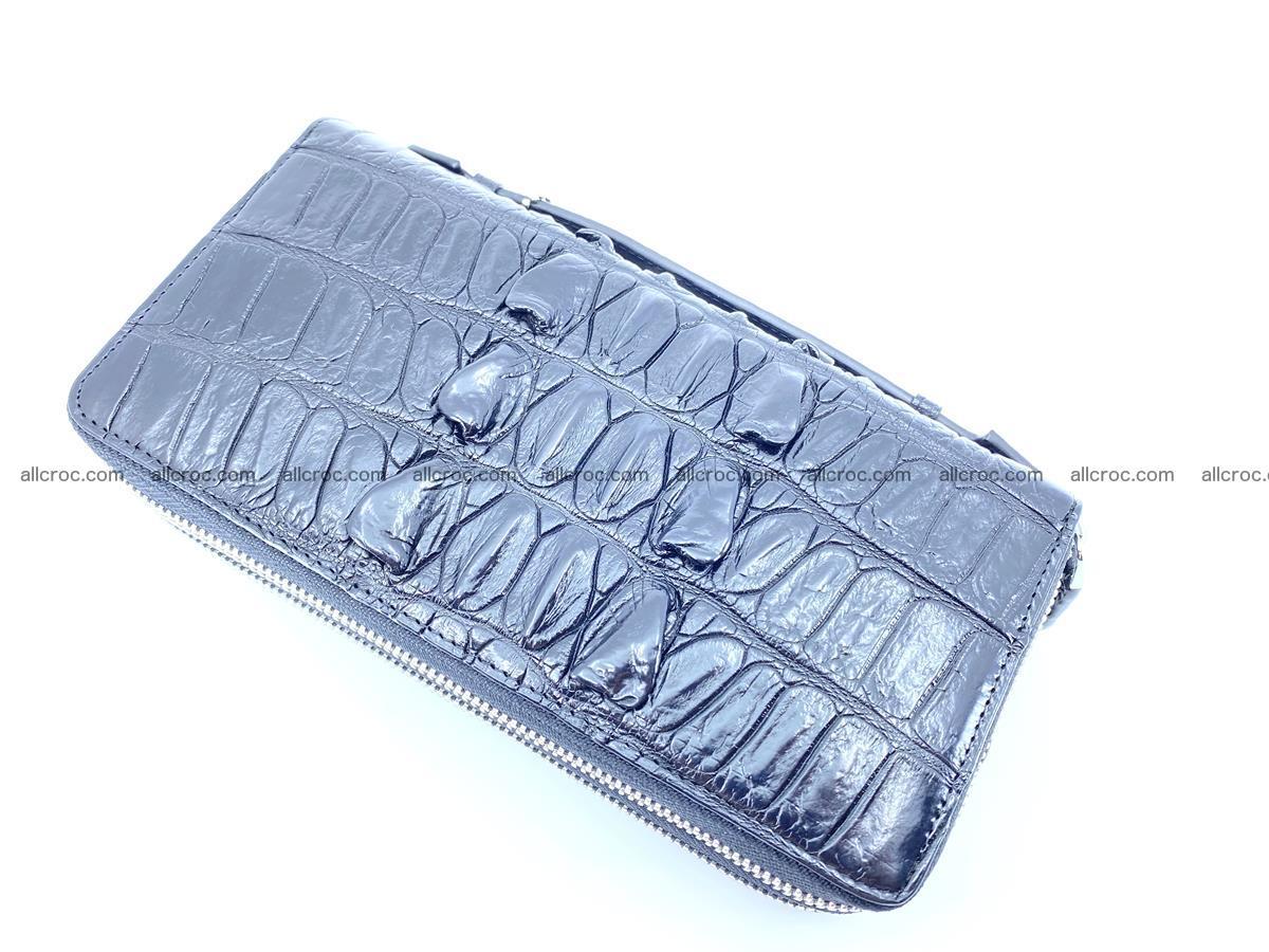 Crocodile skin wallet 2-zips 676 Foto 7