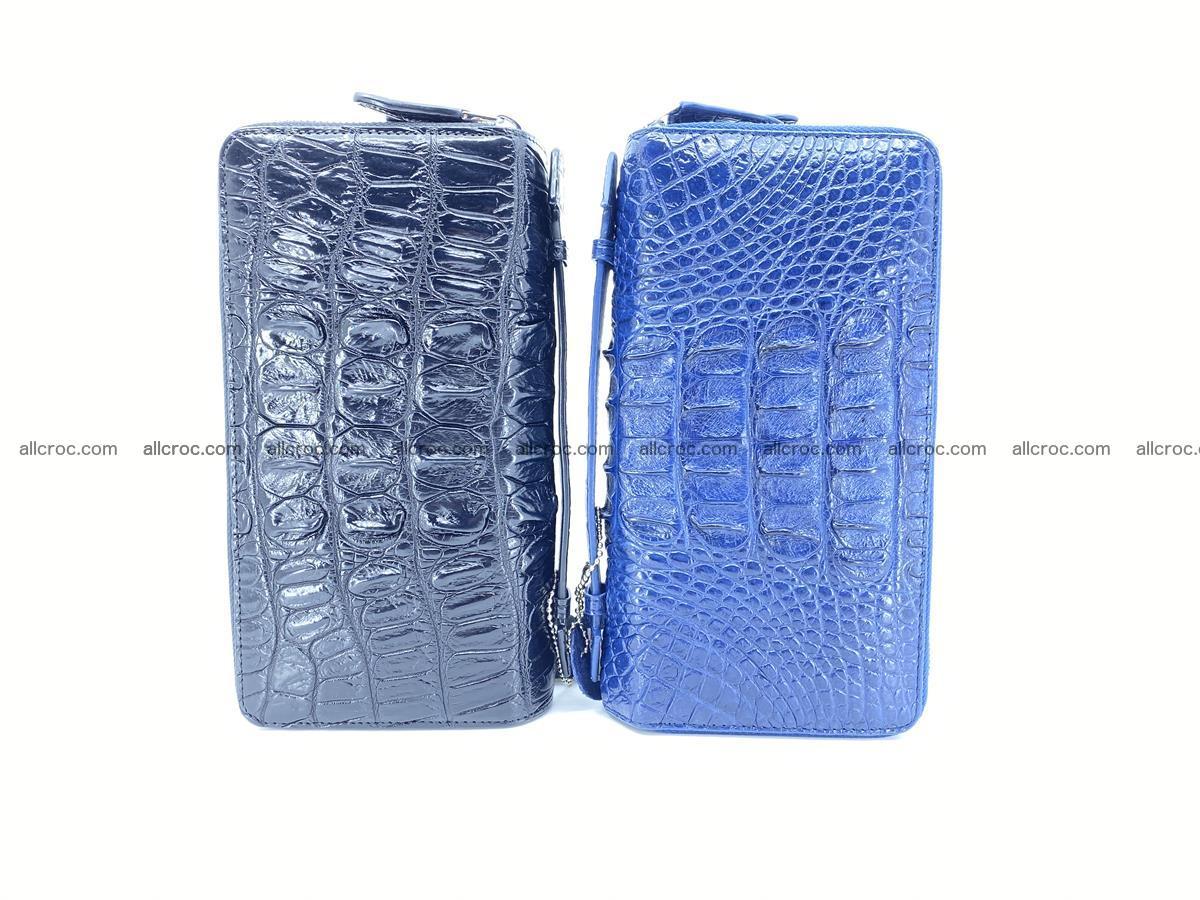 Crocodile skin wallet 2-zips 676 Foto 17