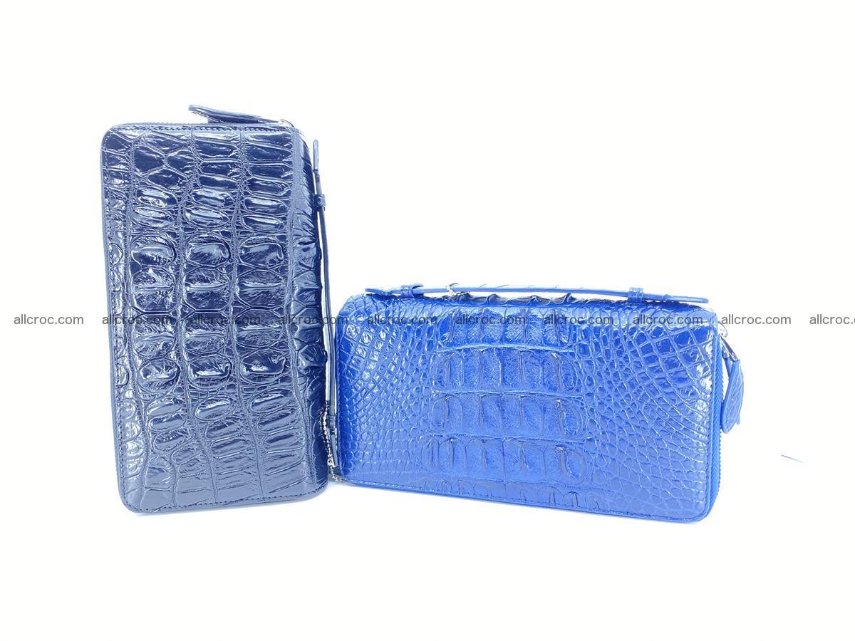 Crocodile skin wallet 2-zips 676 Foto 18