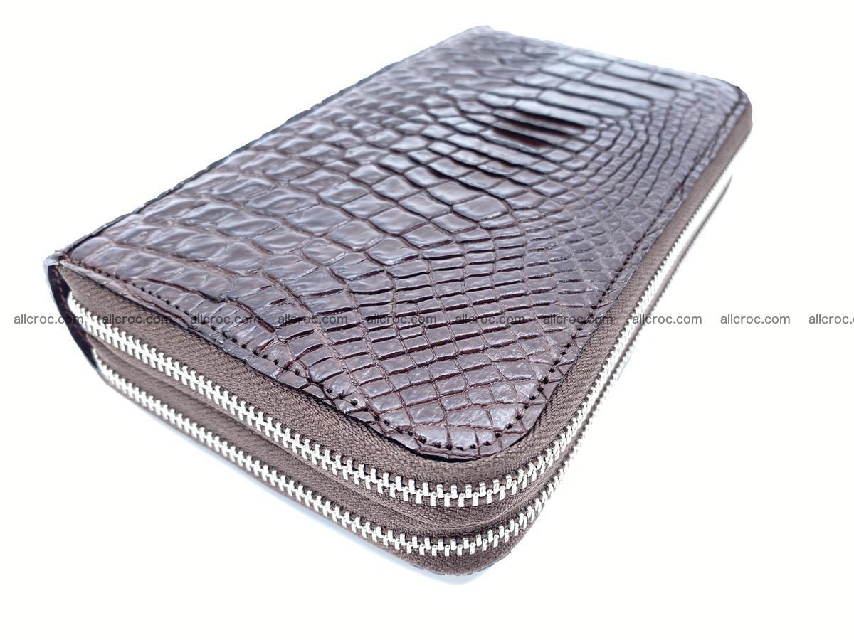 Crocodile skin wallet 2-zips 590 Foto 0