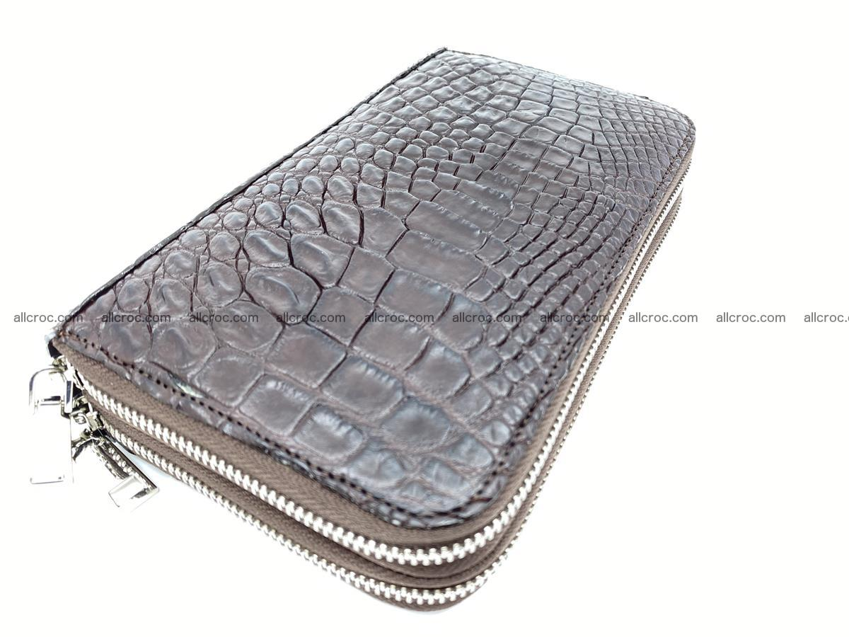Crocodile skin wallet 2-zips 590 Foto 1