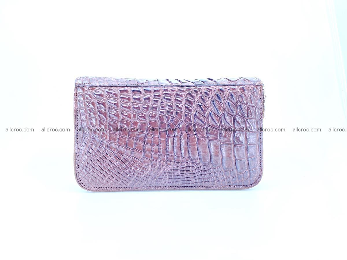Crocodile skin wallet 2-zips 590 Foto 2