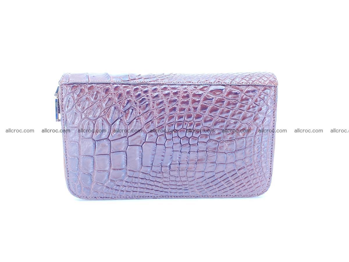 Crocodile skin wallet 2-zips 590 Foto 3