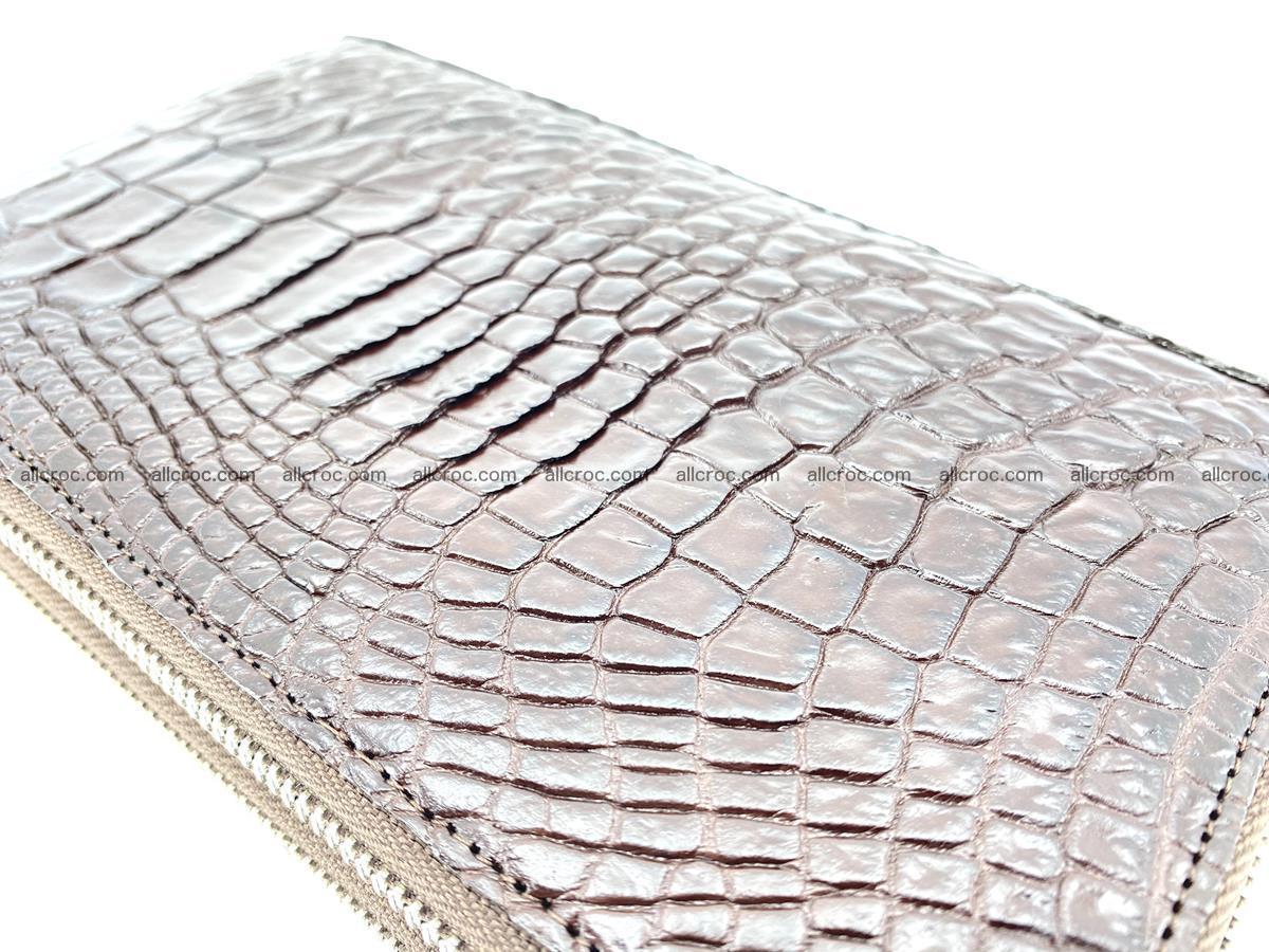 Crocodile skin wallet 2-zips 590 Foto 4