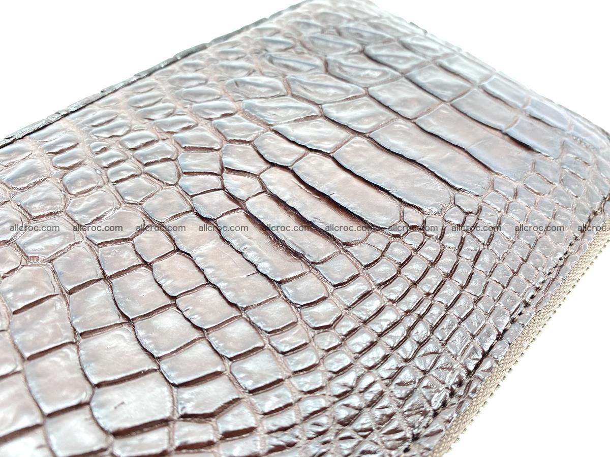 Crocodile skin wallet 2-zips 590 Foto 9