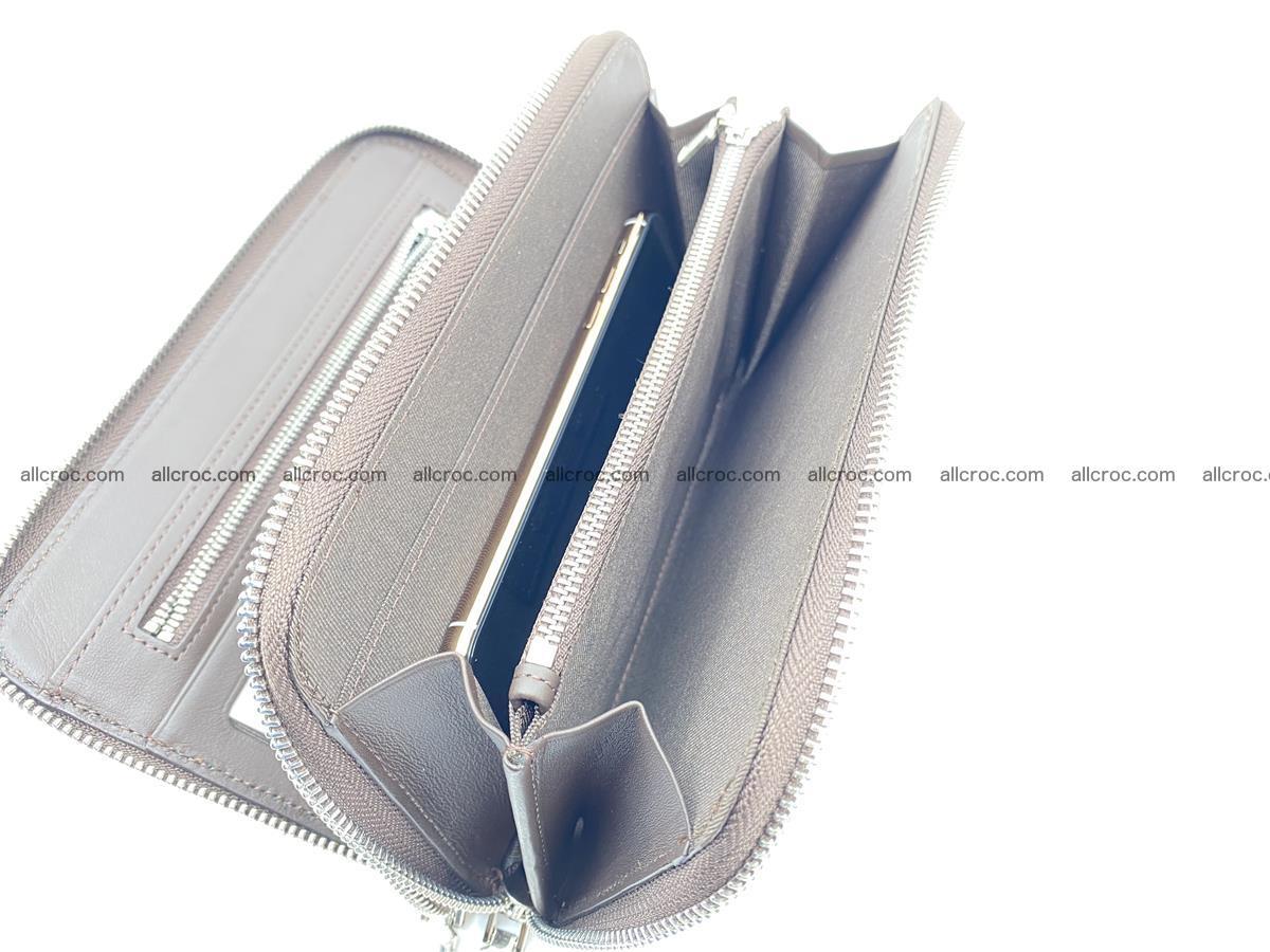 Crocodile skin wallet 2-zips 590 Foto 14