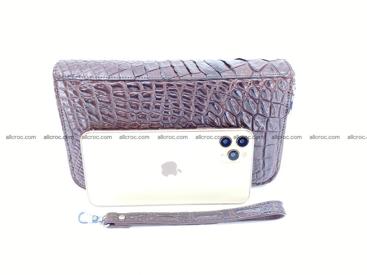 Crocodile skin wallet 2-zips 590 Foto 8