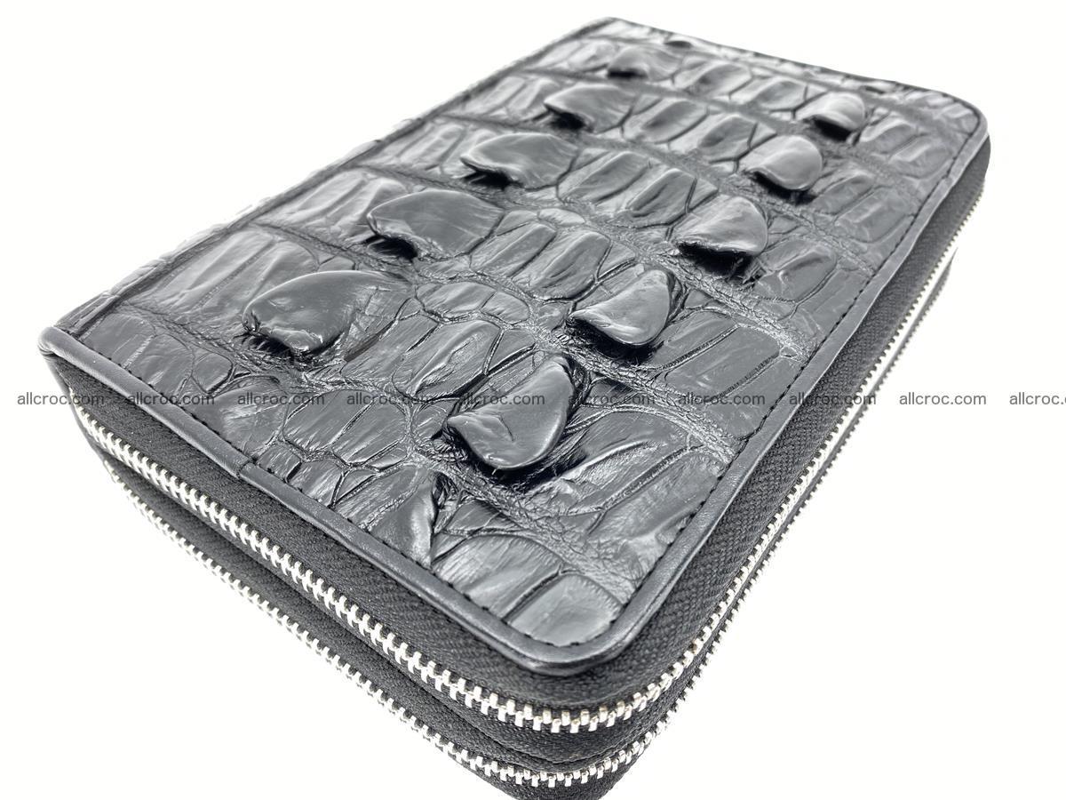 Crocodile skin wallet 2 zips 589 Foto 0