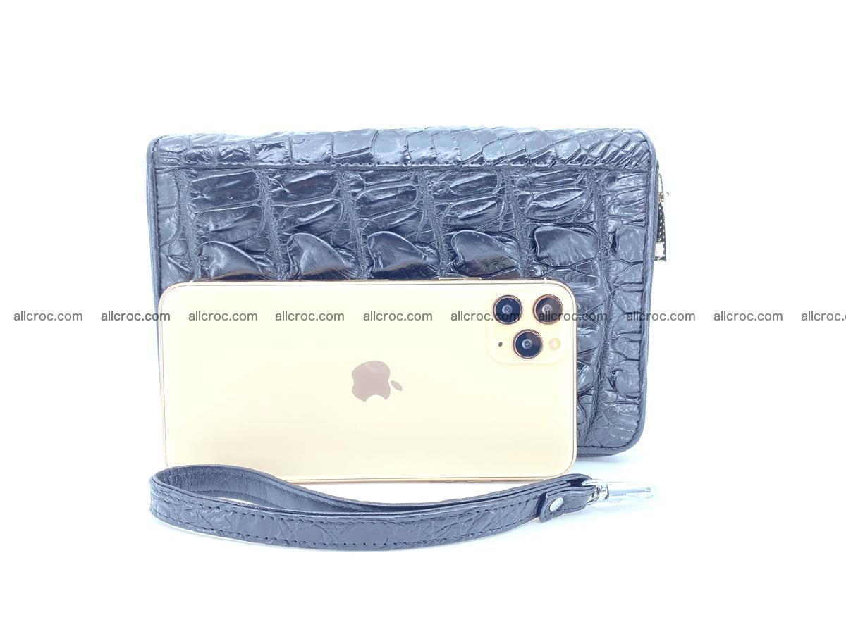 Crocodile skin wallet 2 zips 589 Foto 16