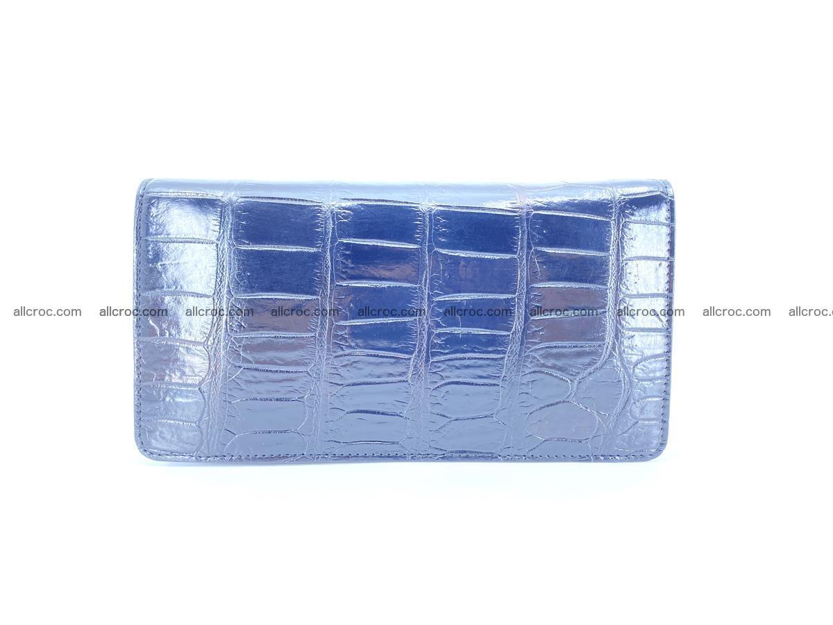 Crocodile skin zip wallet 612 Foto 1