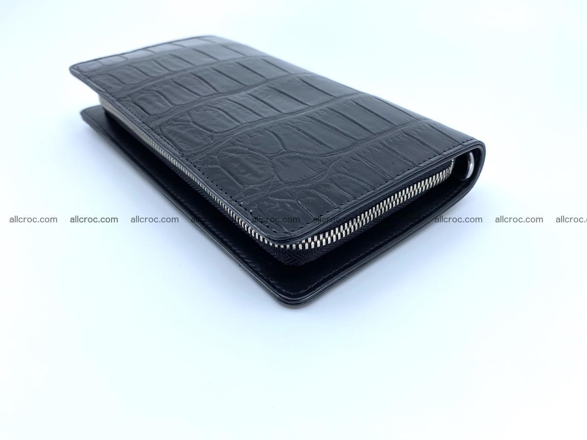 Crocodile skin zip wallet 612 Foto 10