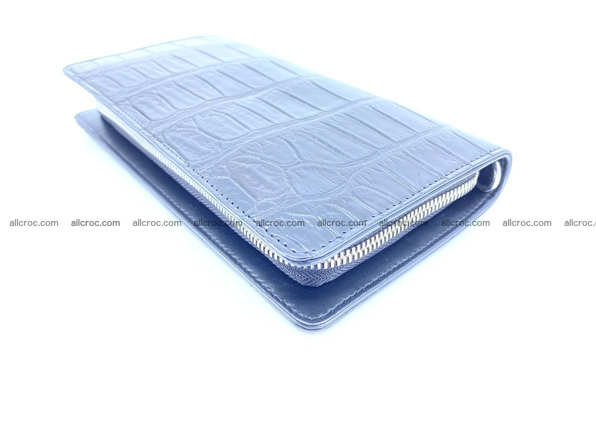 Crocodile skin zip wallet 612 Foto 11
