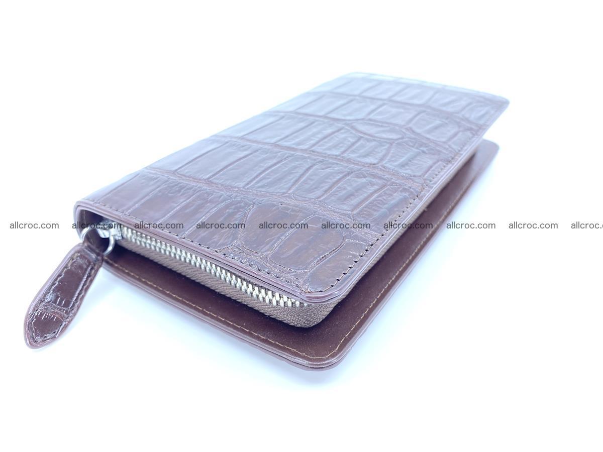 Crocodile skin zip wallet 611 Foto 0