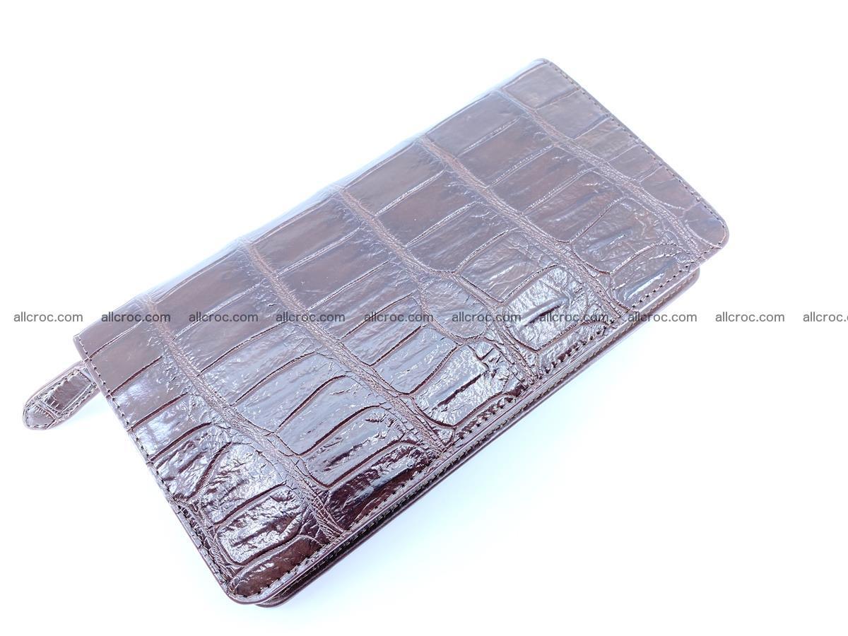 Crocodile skin zip wallet 611 Foto 5