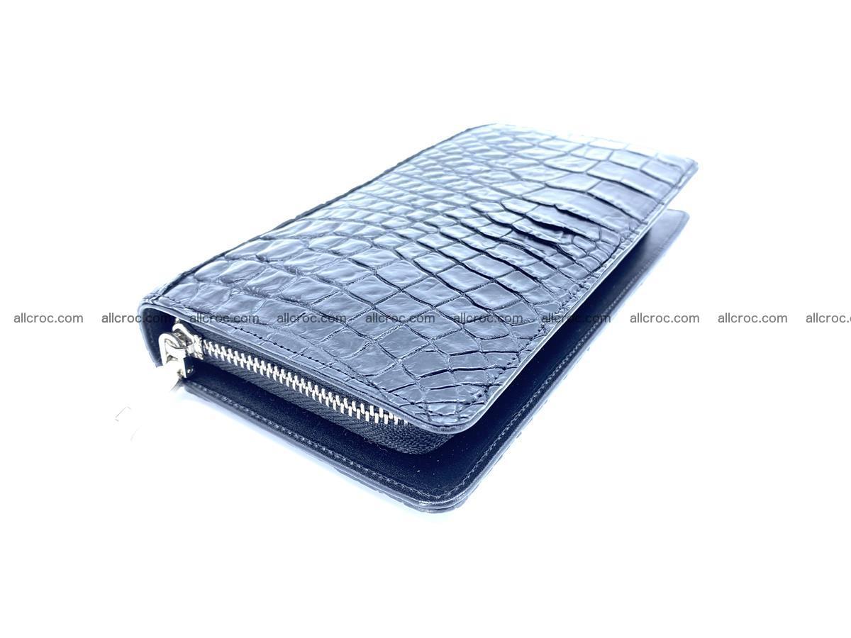 Crocodile skin zip wallet 614 Foto 0