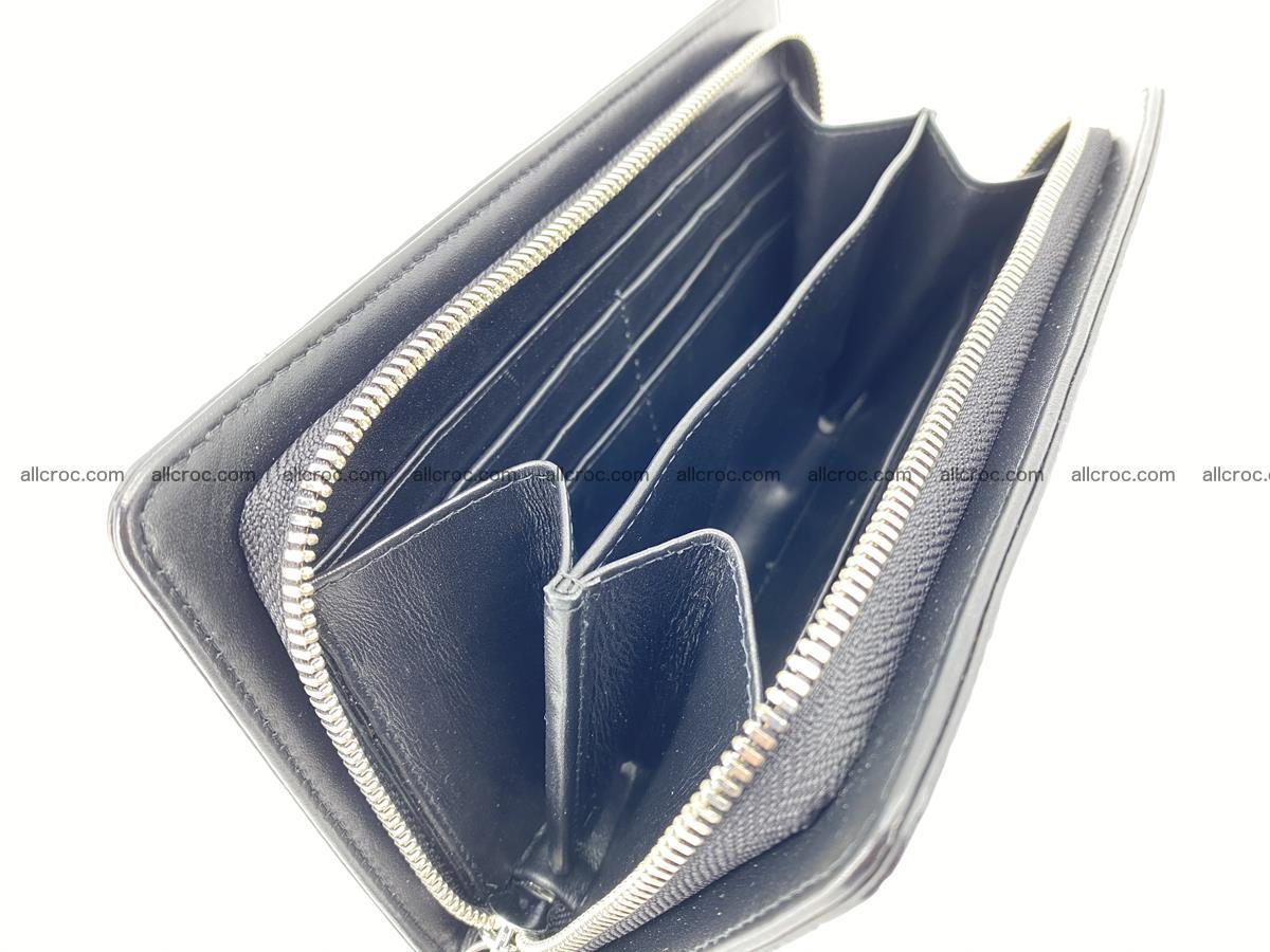 Crocodile skin zip wallet 614 Foto 14