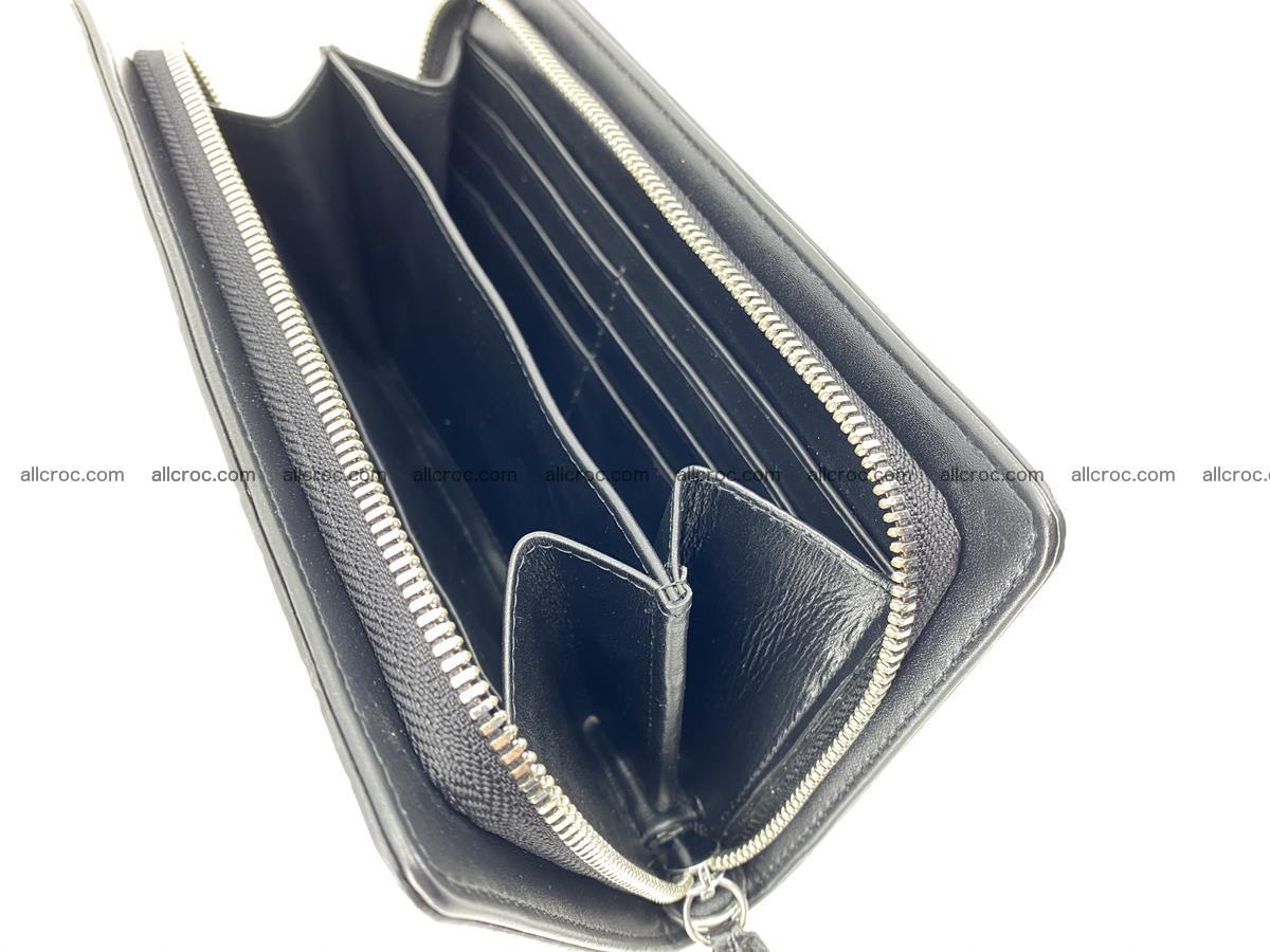 Crocodile skin zip wallet 614 Foto 15