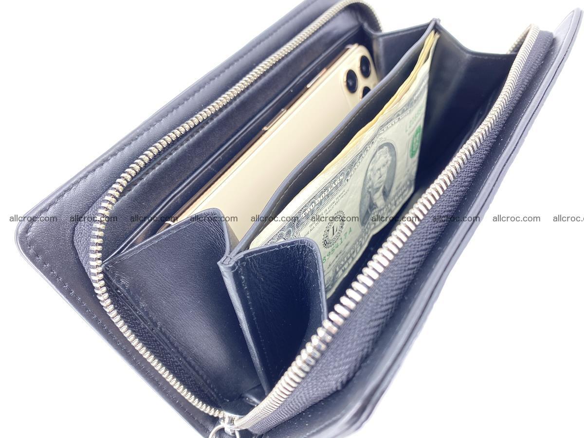 Crocodile skin zip wallet 614 Foto 10