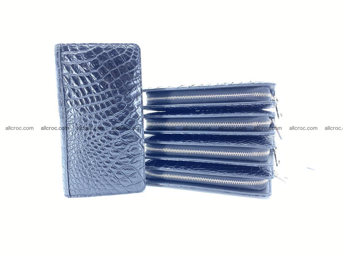 Crocodile skin zip wallet 614 Foto 11