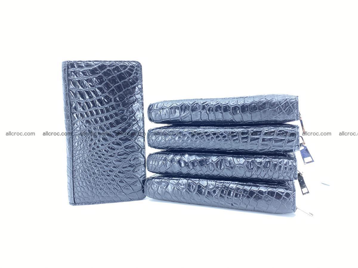 Crocodile skin zip wallet 614 Foto 12