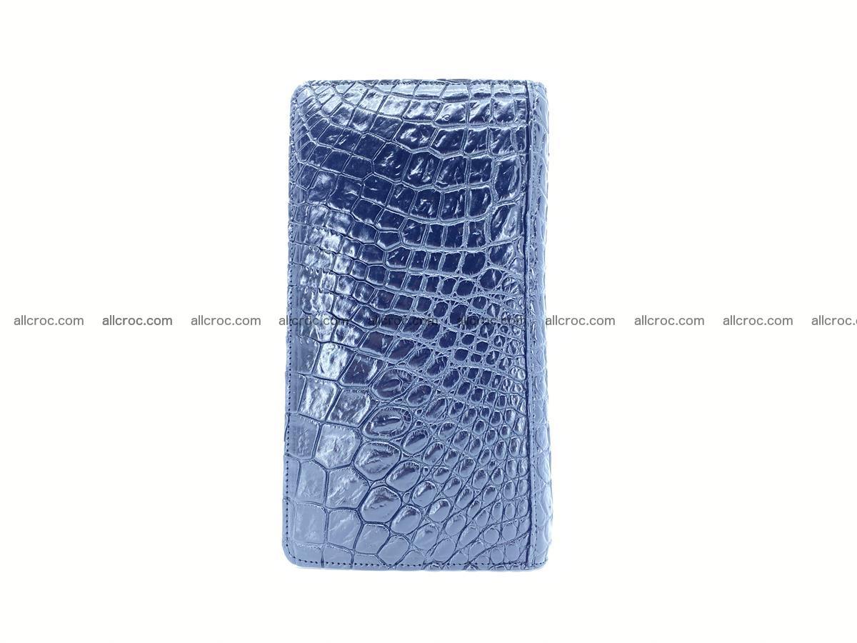 Crocodile skin zip wallet 614 Foto 5