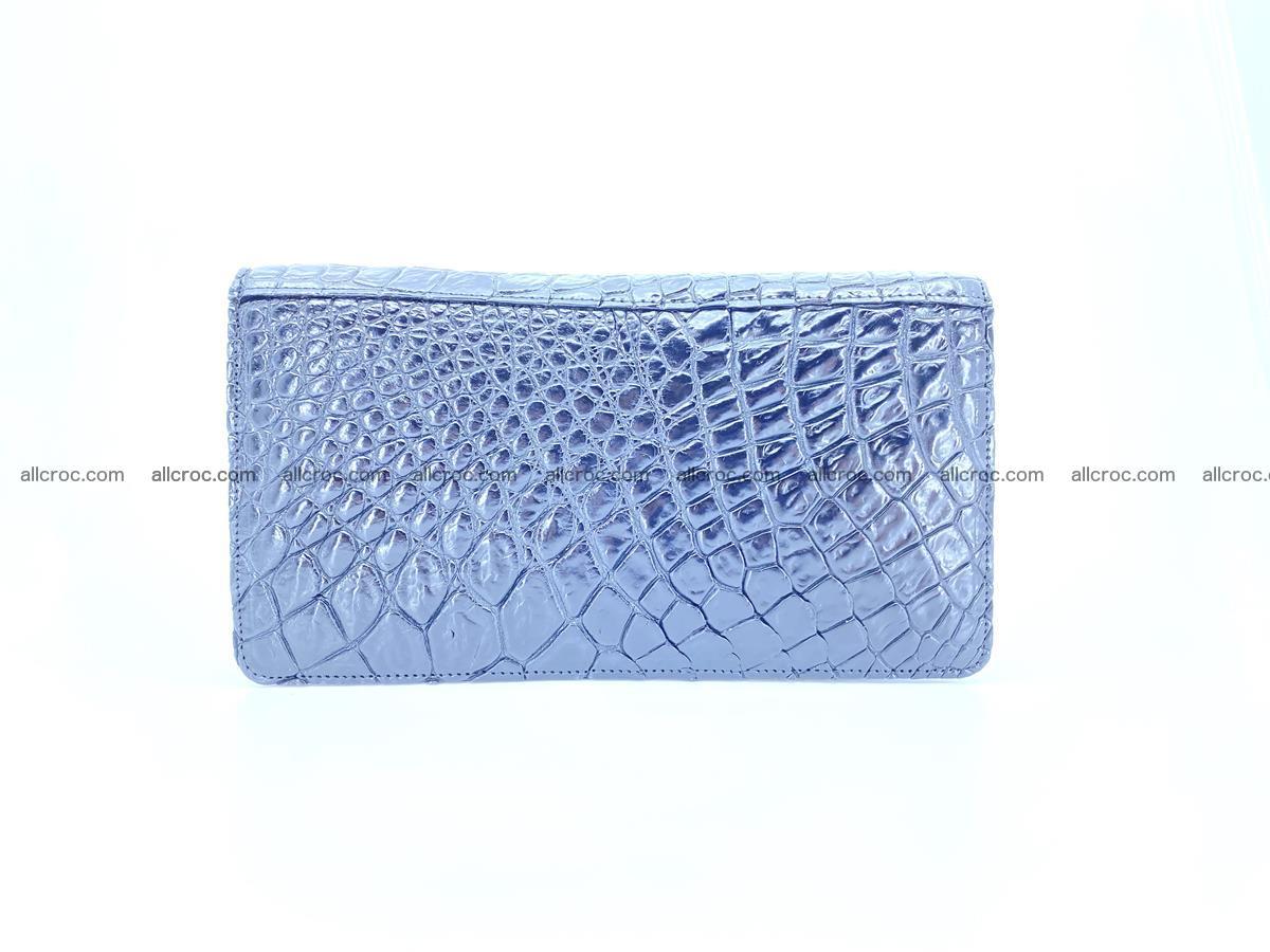 Crocodile skin zip wallet 614 Foto 2
