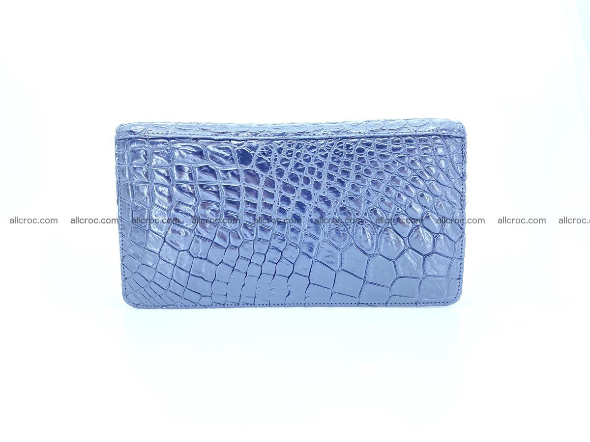 Crocodile skin zip wallet 614 Foto 1