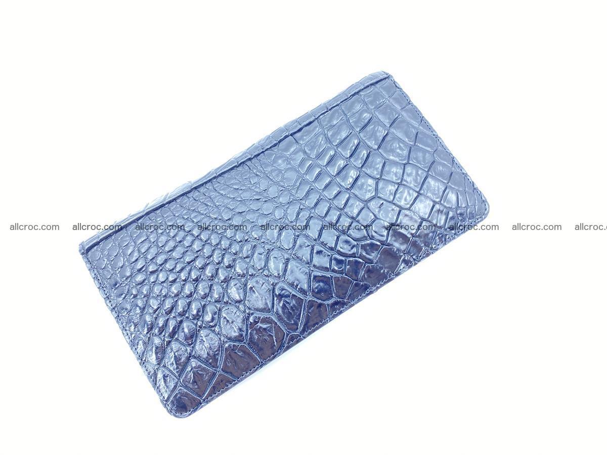 Crocodile skin zip wallet 614 Foto 6