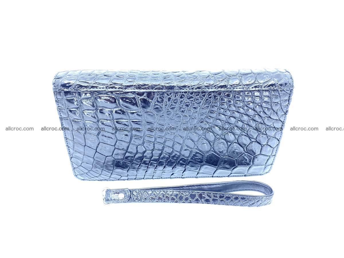 Crocodile skin zip wallet 614 Foto 3