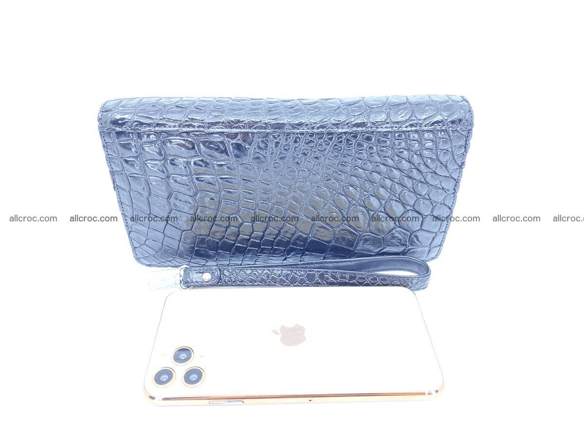 Crocodile skin zip wallet 614 Foto 9