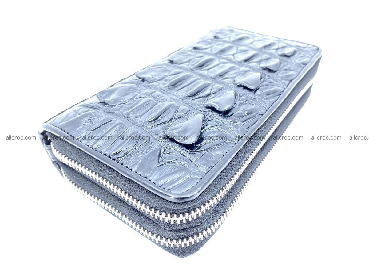 Crocodile skin wallet 2-zips 613 Foto 0