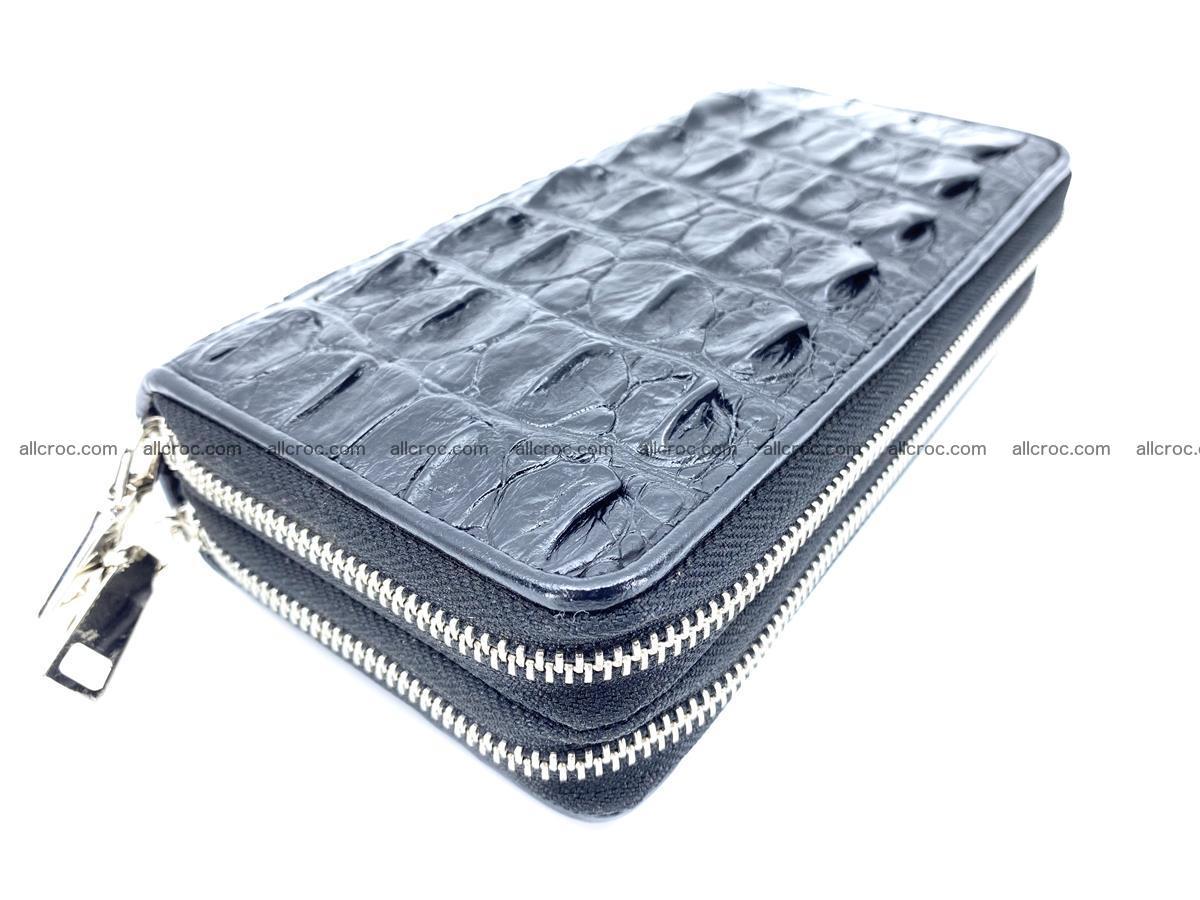 Crocodile skin wallet 2-zips 613 Foto 1