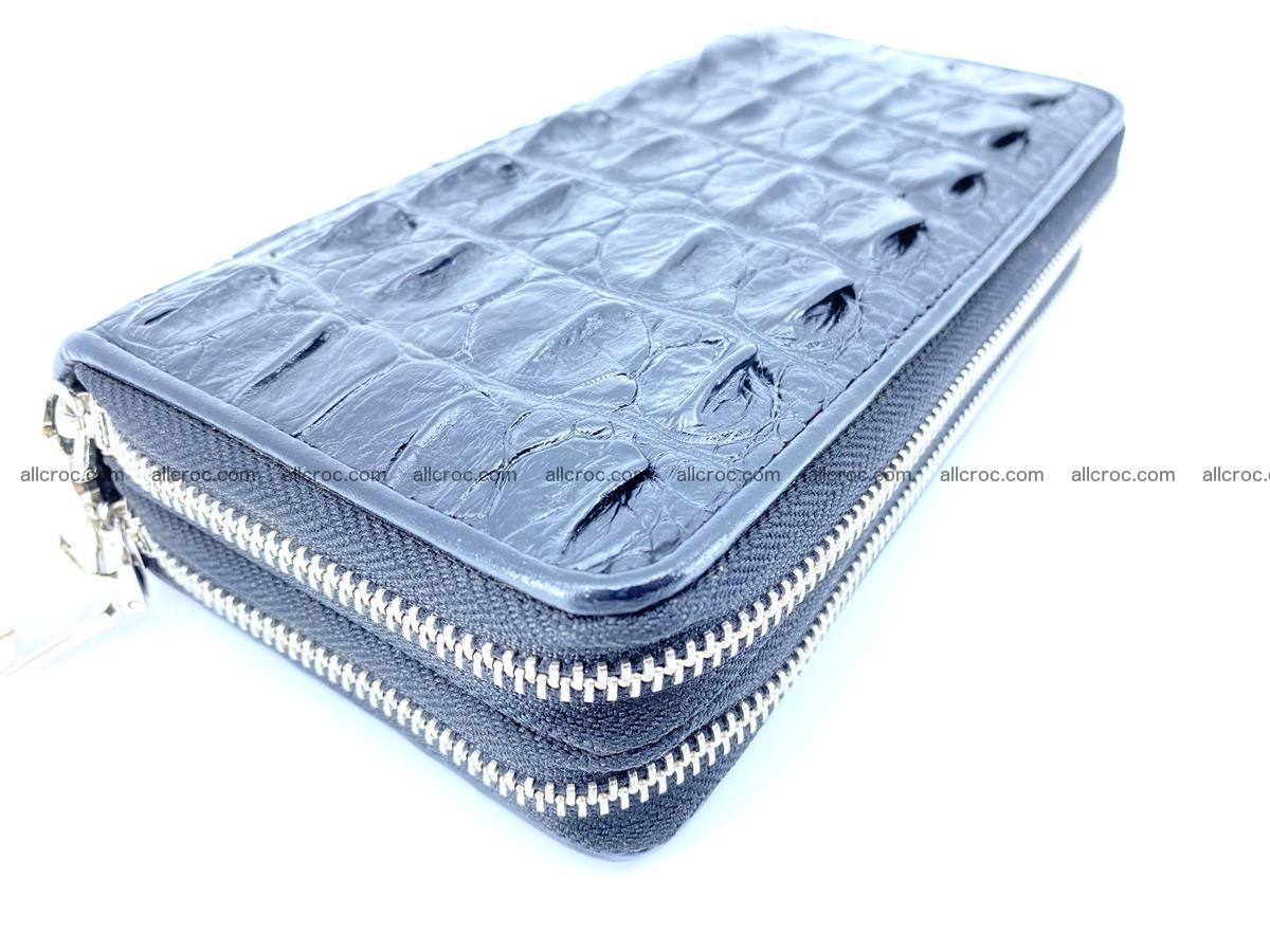 Crocodile skin wallet 2-zips 613 Foto 8
